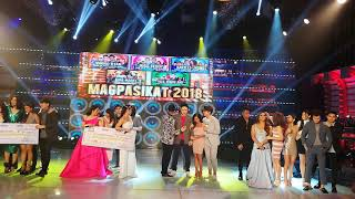It's Showtime Magpasikat 2018 Announcement of winners