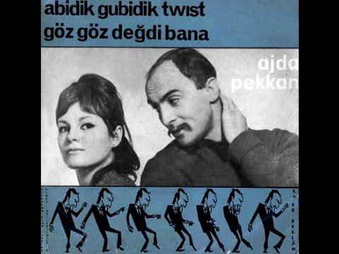 Ajda Pekkan&Ö. Serengil - Abidik Gubidik/Göz Göz Değdi (45'lik - 1964)