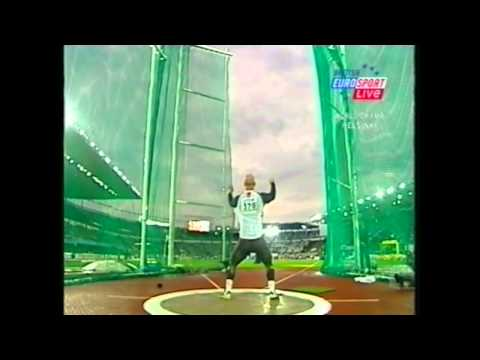 Hammer Throw Mens Final IAAF World Championships 2005 Helsinki