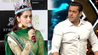 Manushi Chillar Rejects Salman Khan But Chooses Aamir Khan For Her Bollywood Debut