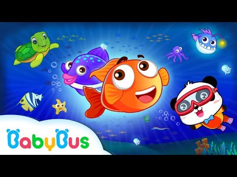 Happy Fishing   Game Preview   Educational Games for kids   BabyBus