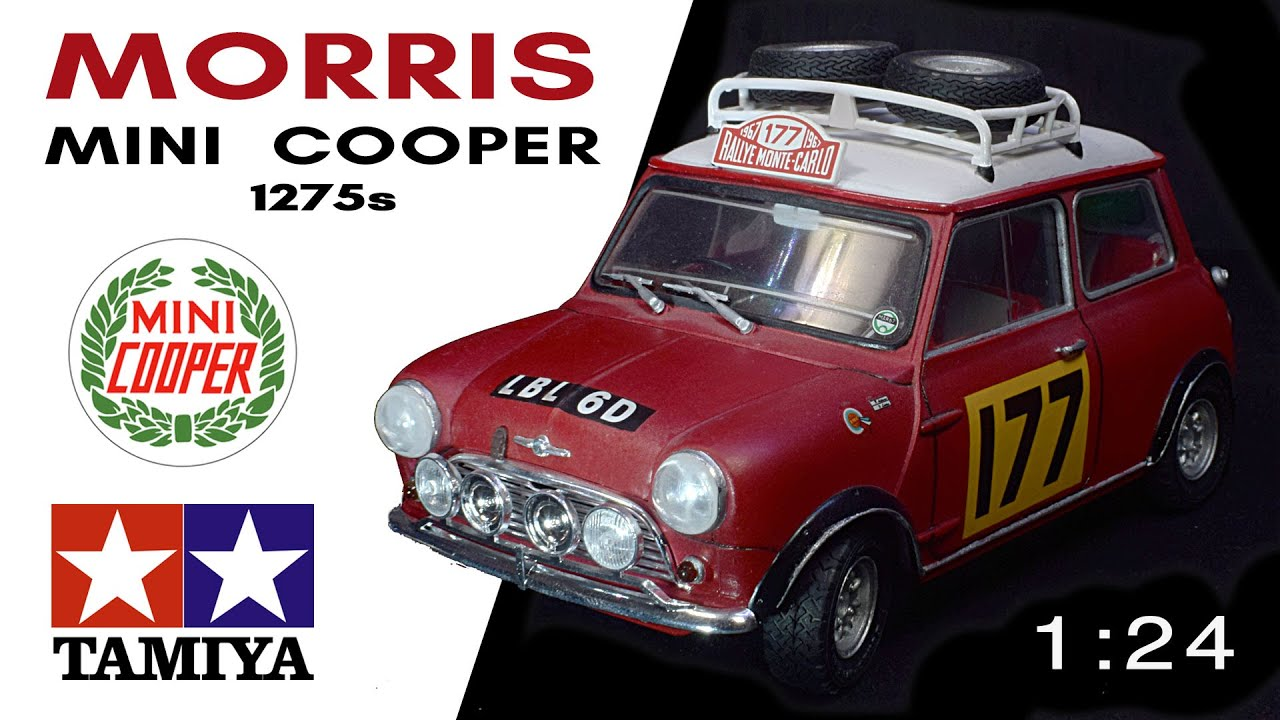 morris mini cooper 1275s rally tamiya modelkit youtube. Black Bedroom Furniture Sets. Home Design Ideas