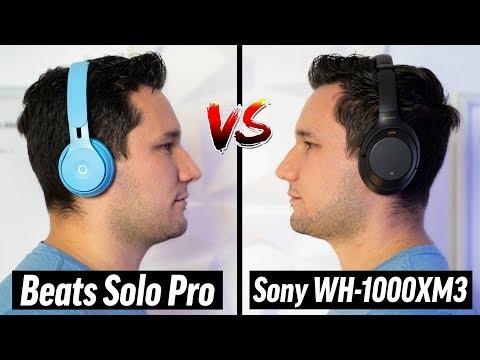 Beats Solo Pro Vs Sony WH-1000XM3 - BEST Headphones?
