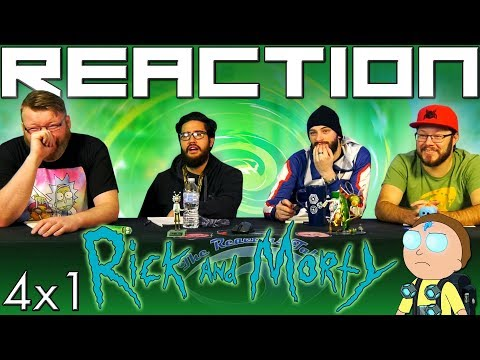 """Rick And Morty 4x1 PREMIERE REACTION!! """"Edge Of Tomorty: Rick Die Rickpeat"""""""