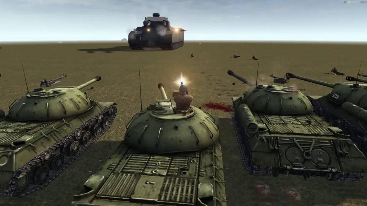 Download RATTE P1000 VS Red army | Men Of War Assault Squad 2