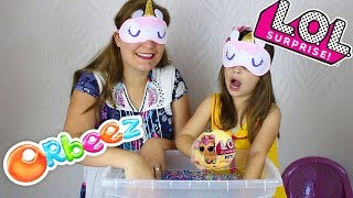 DESAFIO ORBBEZ KIDS PRETEND PLAY TREASURE HUNTING FOR SURPRISE TOY IN ORBEEZ CHALLENGE LOL SURPRISE