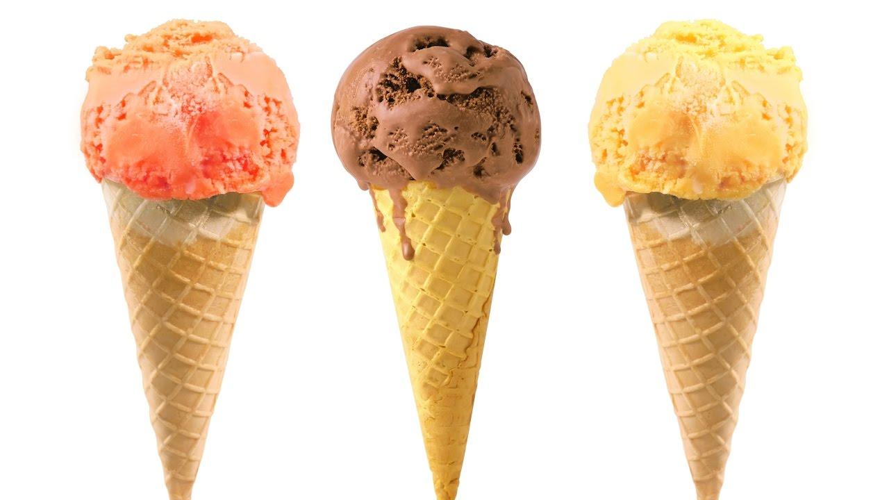 Diy de una cono de helado miniatura en porcelana fr a y foami moldeable youtube - Calorias de un cono de helado ...