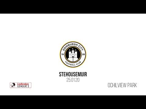 Stenhousemuir Edinburgh City Goals And Highlights