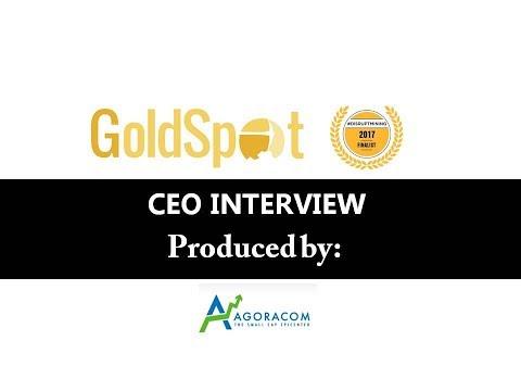 Goldspot Discoveries – CEO Interview – September 7, 2017
