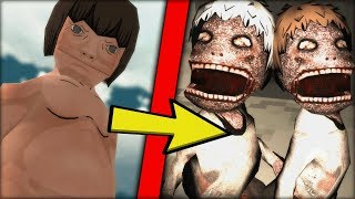 ZOMBIE TITANS !! - ZOMBIE APOCALYPSE IN ATTACK ON TITAN - TRIBUTE GAME