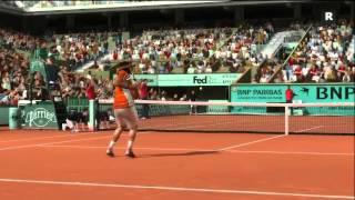 2012 French Open Final Prediction in Top Spin 4 (Nadal vs. Djokovic) Part 4 of 5