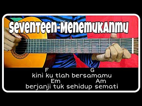 Kunci gitar (SEVENTEEN-MENEMUKANMU) mudah