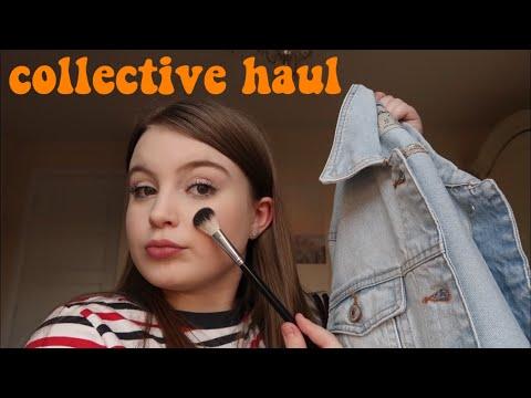 COLLECTIVE HAUL! MAKEUP & CLOTHES   Basically Megan