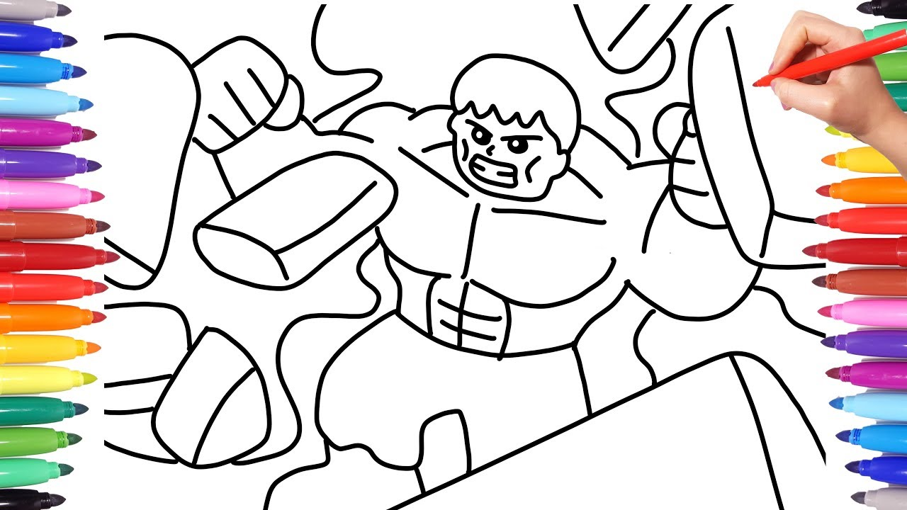 LEGO AVENGERS COLORING PAGES // COLORING MARVEL LEGO ...