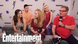 'The Goldbergs' Cast On The Real Origins Behind Beverly's F-Bombs | SDCC 2018 | Entertainment Weekly