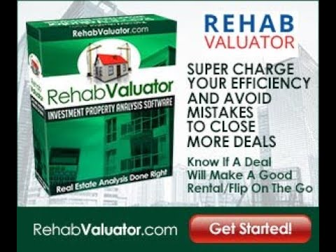 Review of the Rehab Valuator Lite for Real Estate Investor - YouTube