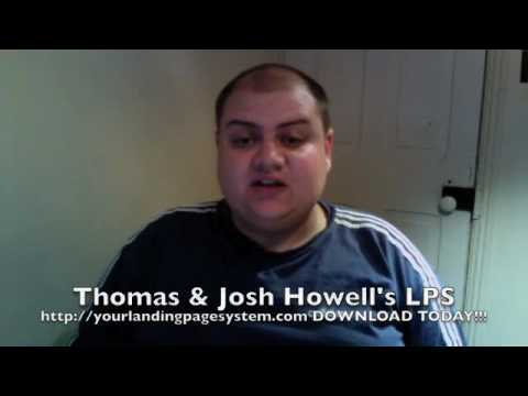 tom and josh howells landing page system
