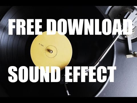 Vinyl Crackle Sound Effect Free Download Youtube