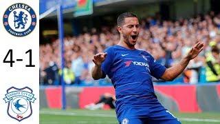 Chelsea Vs Cardiff City 4-1 | Premier League | Match Preview 15/09/18 HD