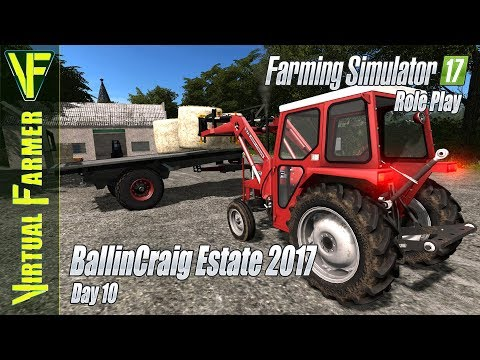 Cow Maintainance | BallinCraig Estate 2017, Day 10 | Farming Simulator 17 Role Play