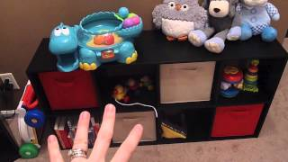 Budget Organization: Playroom (How to organize a playroom)