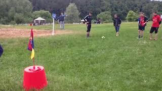 Обидный промах во время игры в футгольф | 2025golf