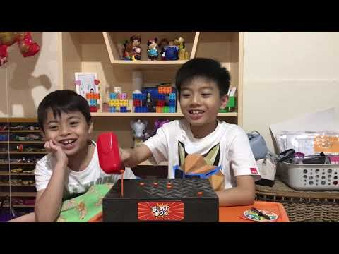 TOY REVIEW | BLAST BOX by ZING | Jaco and Jero's Fun Day