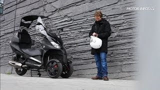 Essai Adiva AD3 : le Scooter à trois roues à toit rétractable