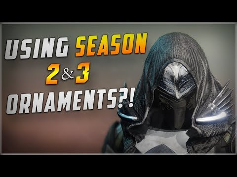 How To Use Season 2 And Season 3 Ornaments In Shadowkeep! (Outdated)