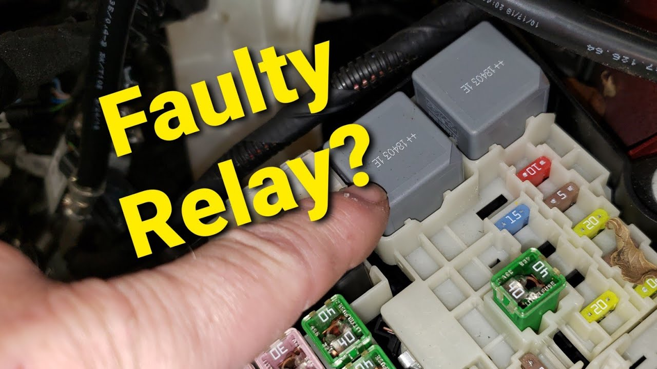 Easiest Way to Check a Relay