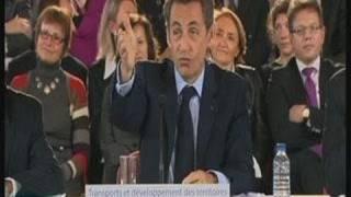 Sarkozy félicite publiquement François Baroin (Troyes)