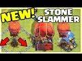 NEW SIEGE MACHINE - Stone Slammer! Clash of Clans Update Sneak Peek #3!