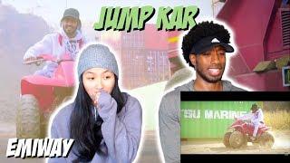 FIRST TIME REACTING TO INDIAN RAP!! | EMIWAY - JUMP KAR | MUSIC VIDEO REACTION