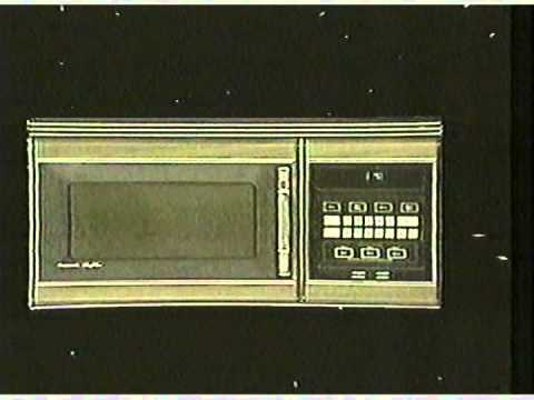 1983 Panasonic Microwave Oven Commercial Youtube
