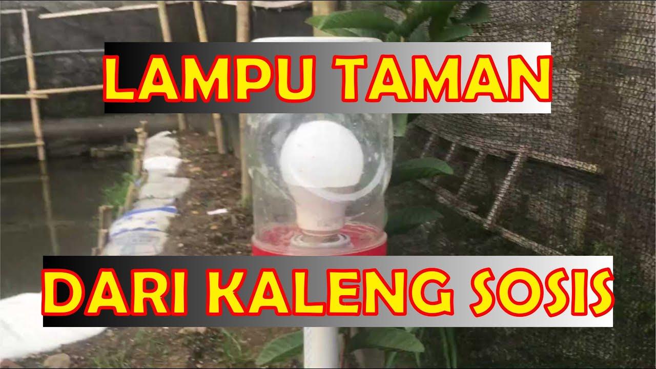 Membuat Lampu Taman Dari Kaleng Bekas Youtube