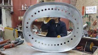 Büyük Kutu Harf Ampullü Tabela İmalat Videosu | Alüminyum Ampullü Kutu Harf Tabela Örnekleri