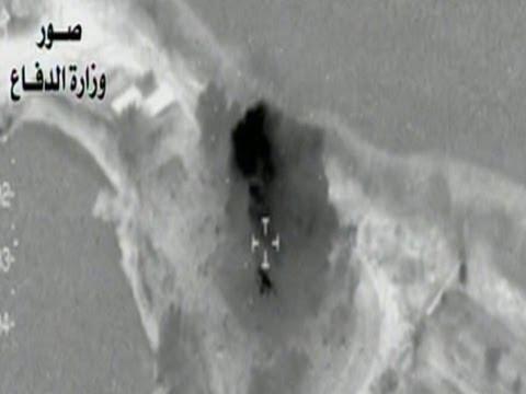 Raw: Iraqi Airstrikes Target ISIS Outposts