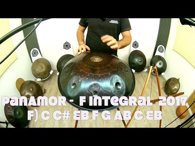 PanAmor - F integral - Mandala Design -  Handpan HcT Review 2017