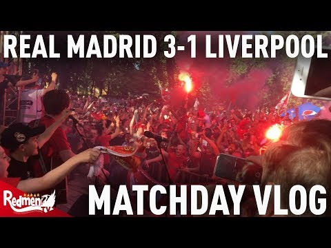Real Madrid v Liverpool 3-1 | Matchday Vlog