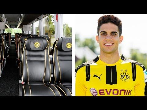Fußball Fans zittern - Die Explosion am Mannschaftsbus des Borussia Dortmund