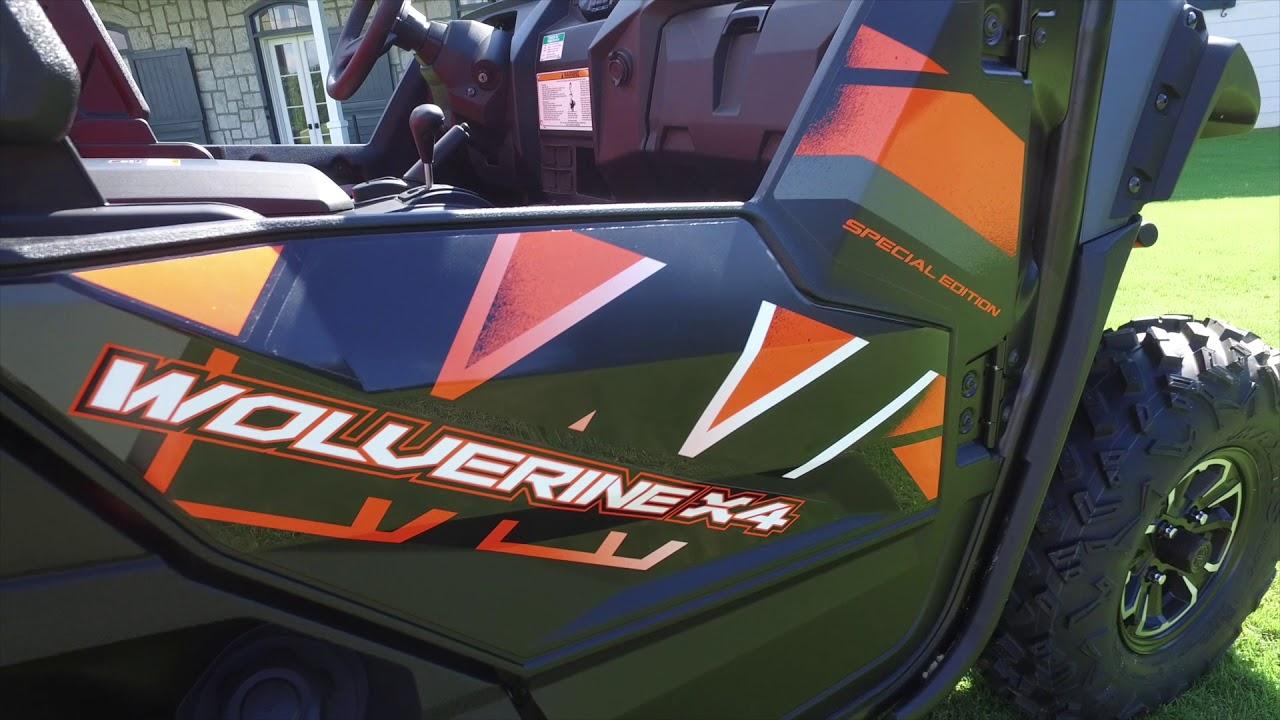 2018 Yamaha Wolverine X4 First Glance