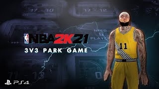 Big Gee's Stream #4 - NBA2K21 MyCareer 3vs3 Neighborhood