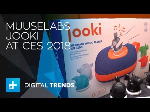 Muuselabs Jooki Jukebox for Kids at CES 2018