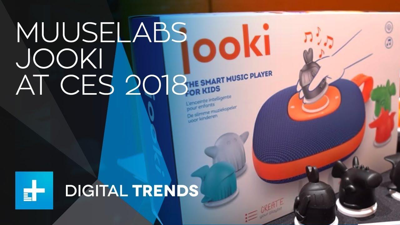 Muuselabs Jooki Jukebox for Kids at CES 2018
