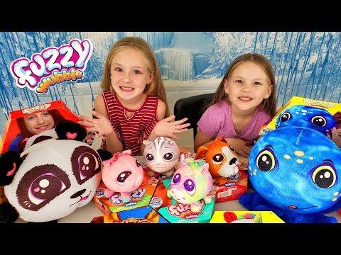 Opening Big Fuzzy Wubble Bubble Toys & Fuzzy Wubble Babies!!