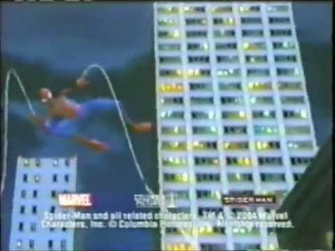 SpiderMan 2: The Game commercial  2004