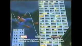 Spider Man 2 The Game commercial 2004