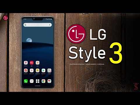 LG Style 3 Price, Official Look, Design, Specifications, Camera, Features And Sale Details