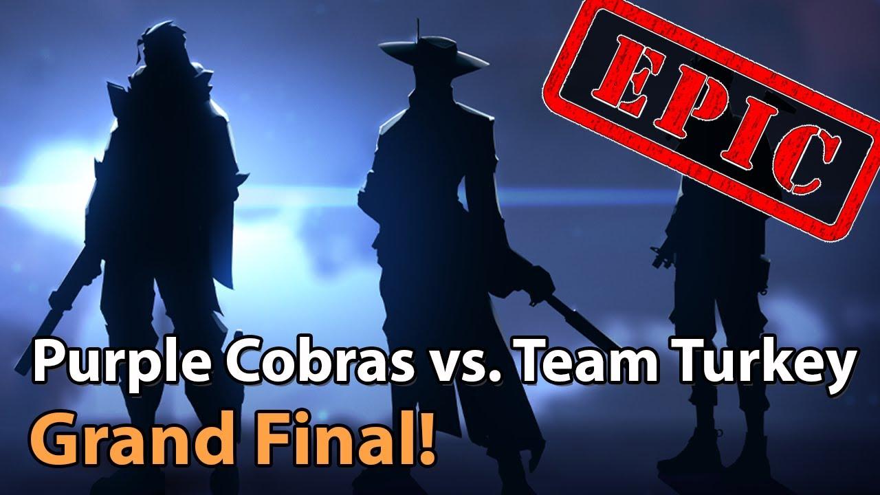 ► EPIC Valorant Esports - Grand Final: Purple Cobras vs. Team Turkey - Clutch Battles Tournament