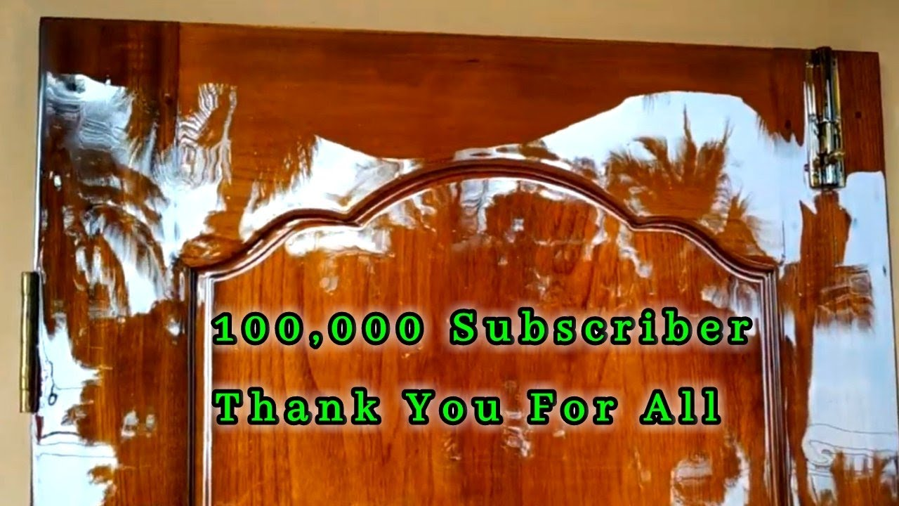 Thank You For All | 100 K Subscribe | Royal Wood Polish Work
